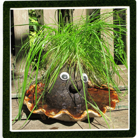 How to make make a grass head character